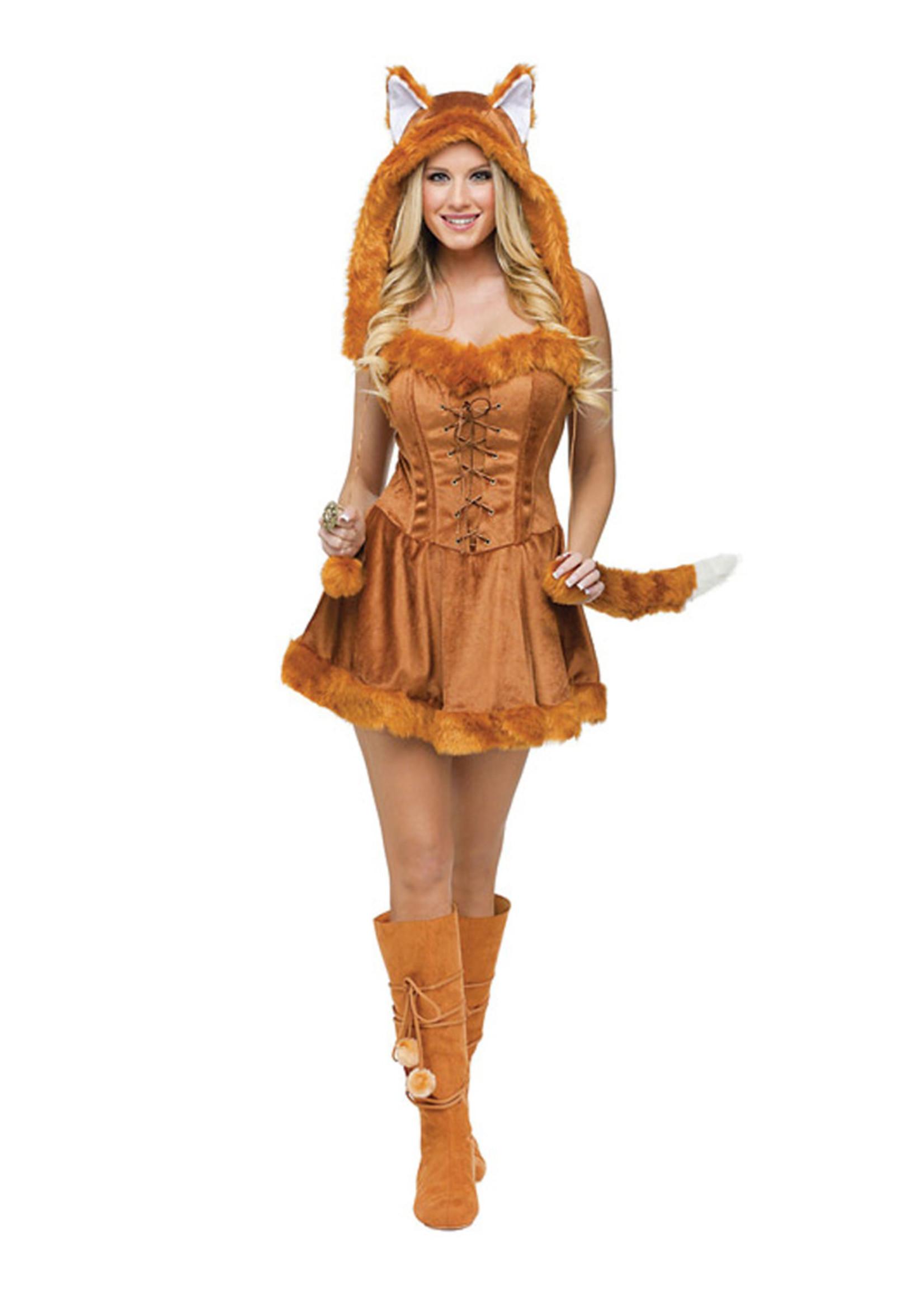 Foxy Lady Costume - Women's