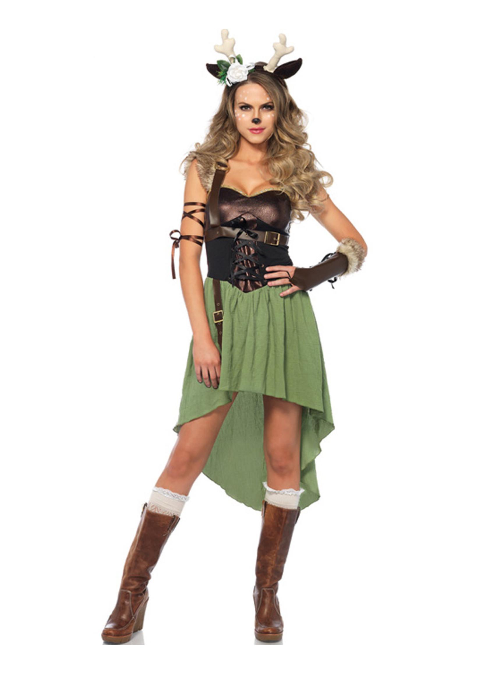 Dark Forest Fawn Costume - Women's