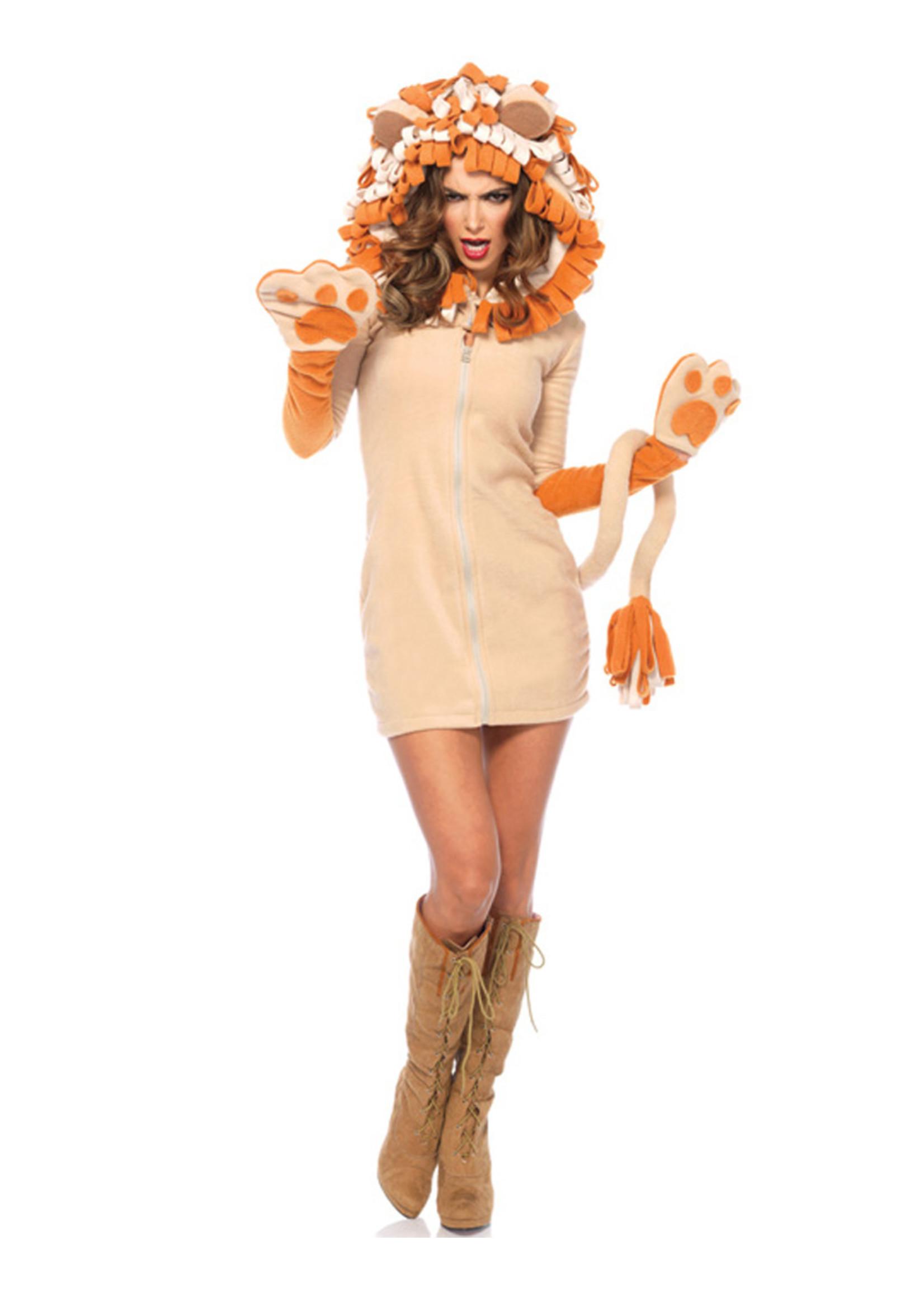 Cozy Lion Costume - Women's