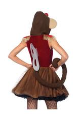 Wind-Up Monkey Costume - Women's