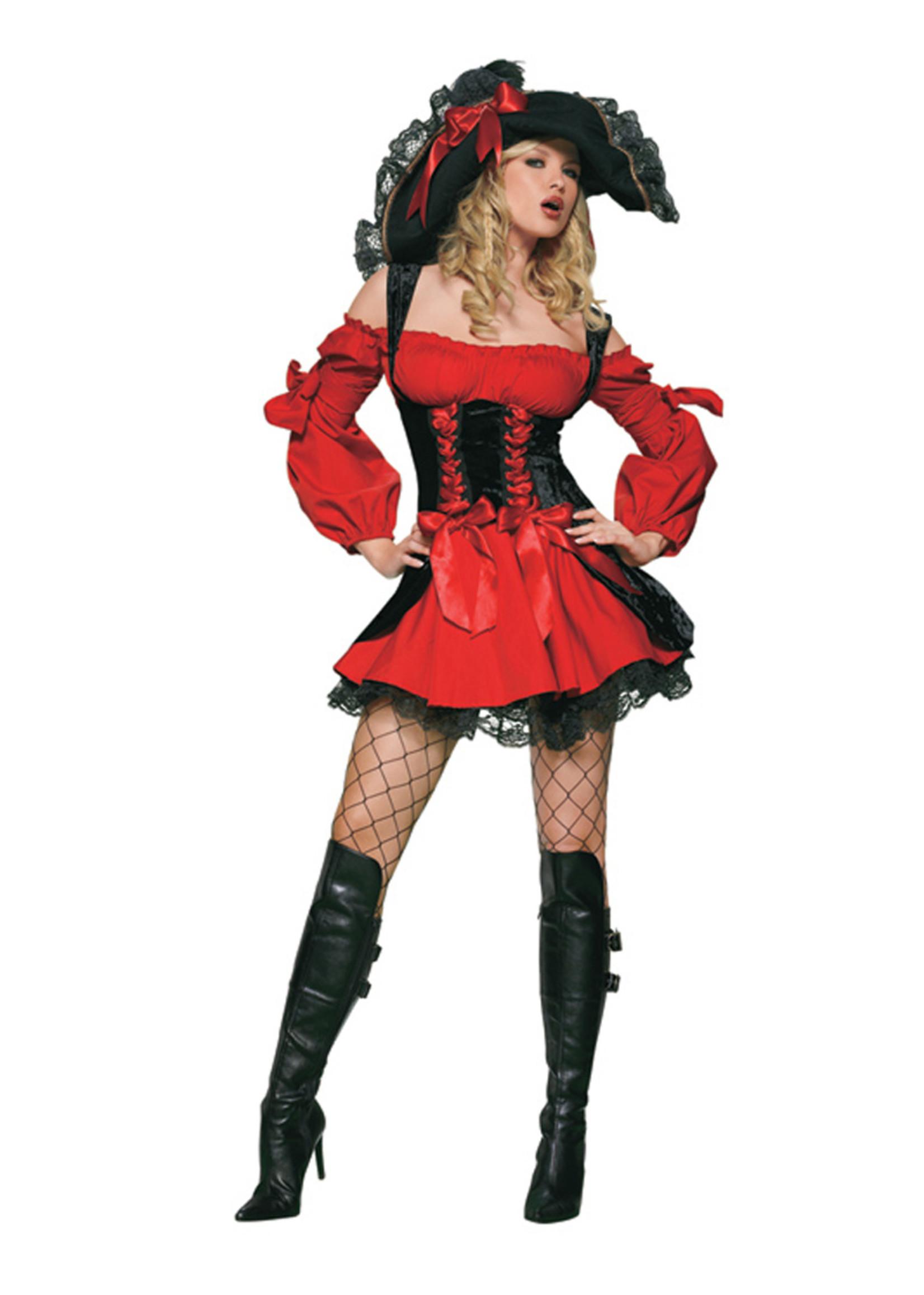 Vixen Pirate Costume - Women's