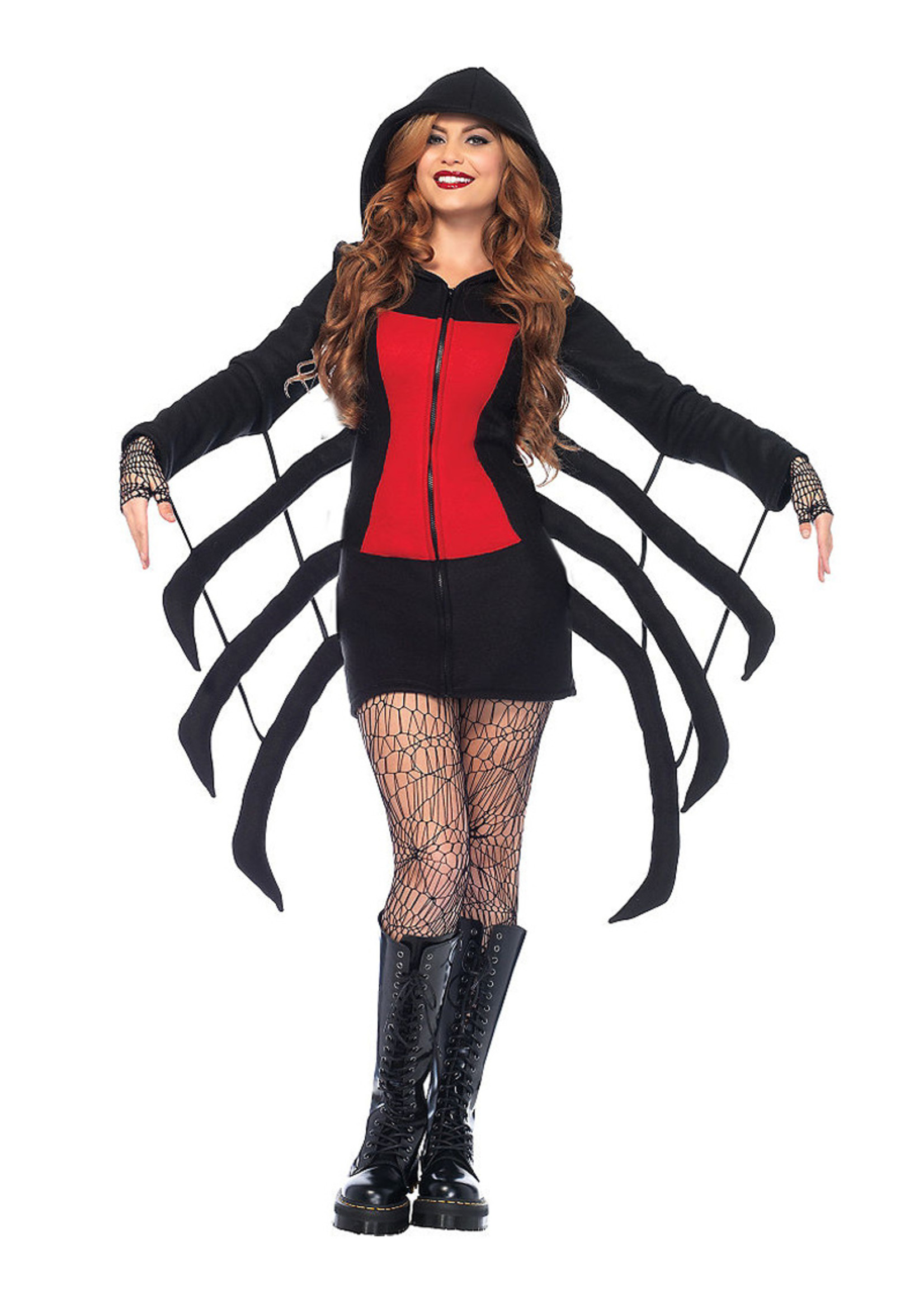 Cozy Black Widow Costume - Women's