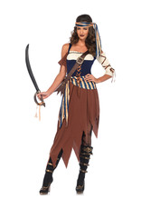 Caribbean Castaway Costume - Women's