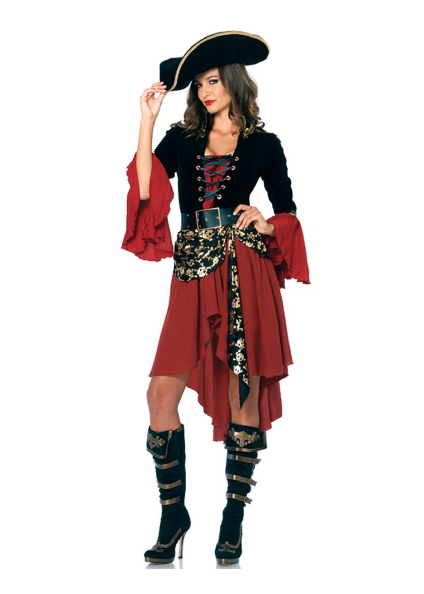 Cruel Seas Captain Costume - Women's