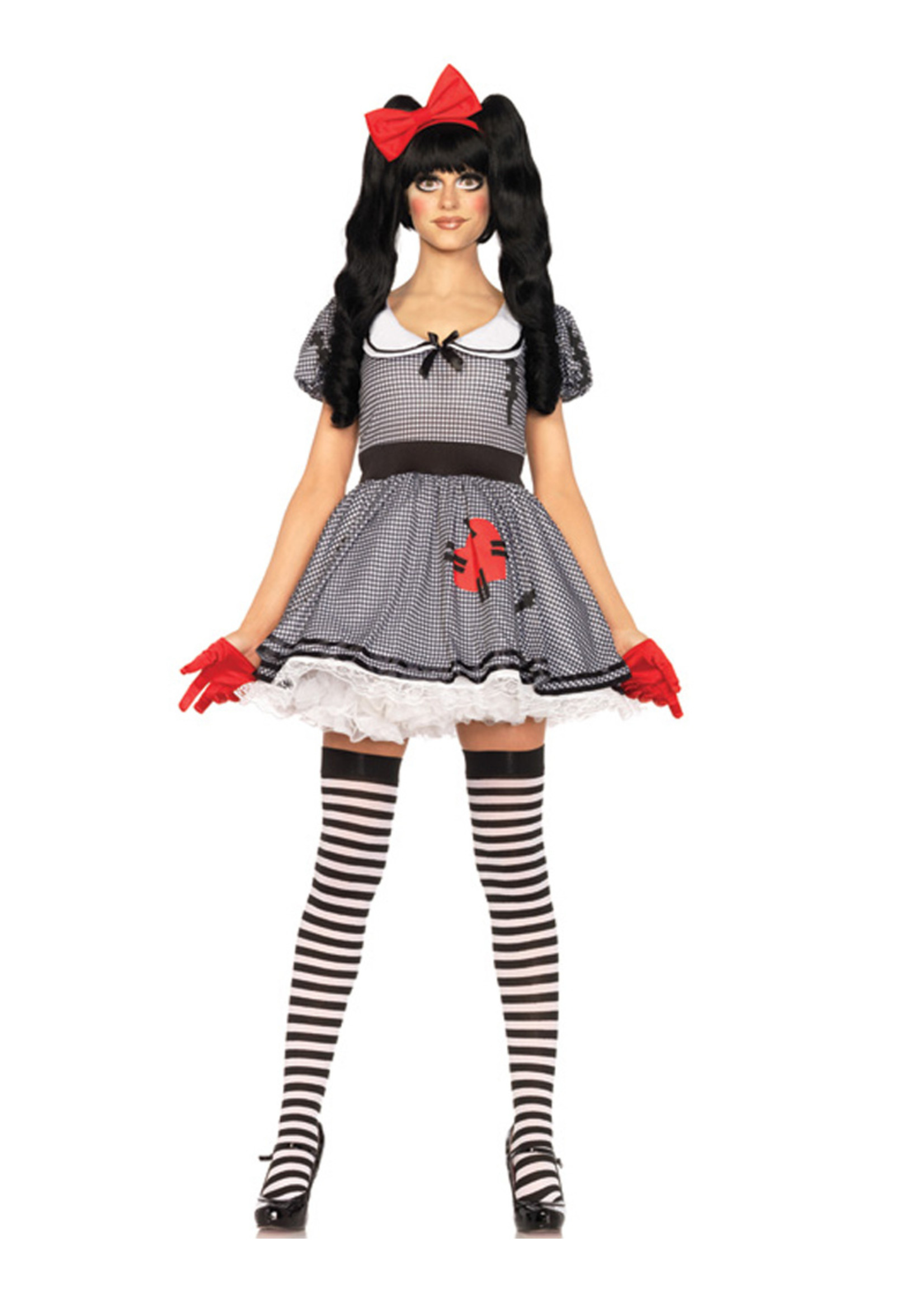 Wind-Me-Up Dolly Costume - Women's
