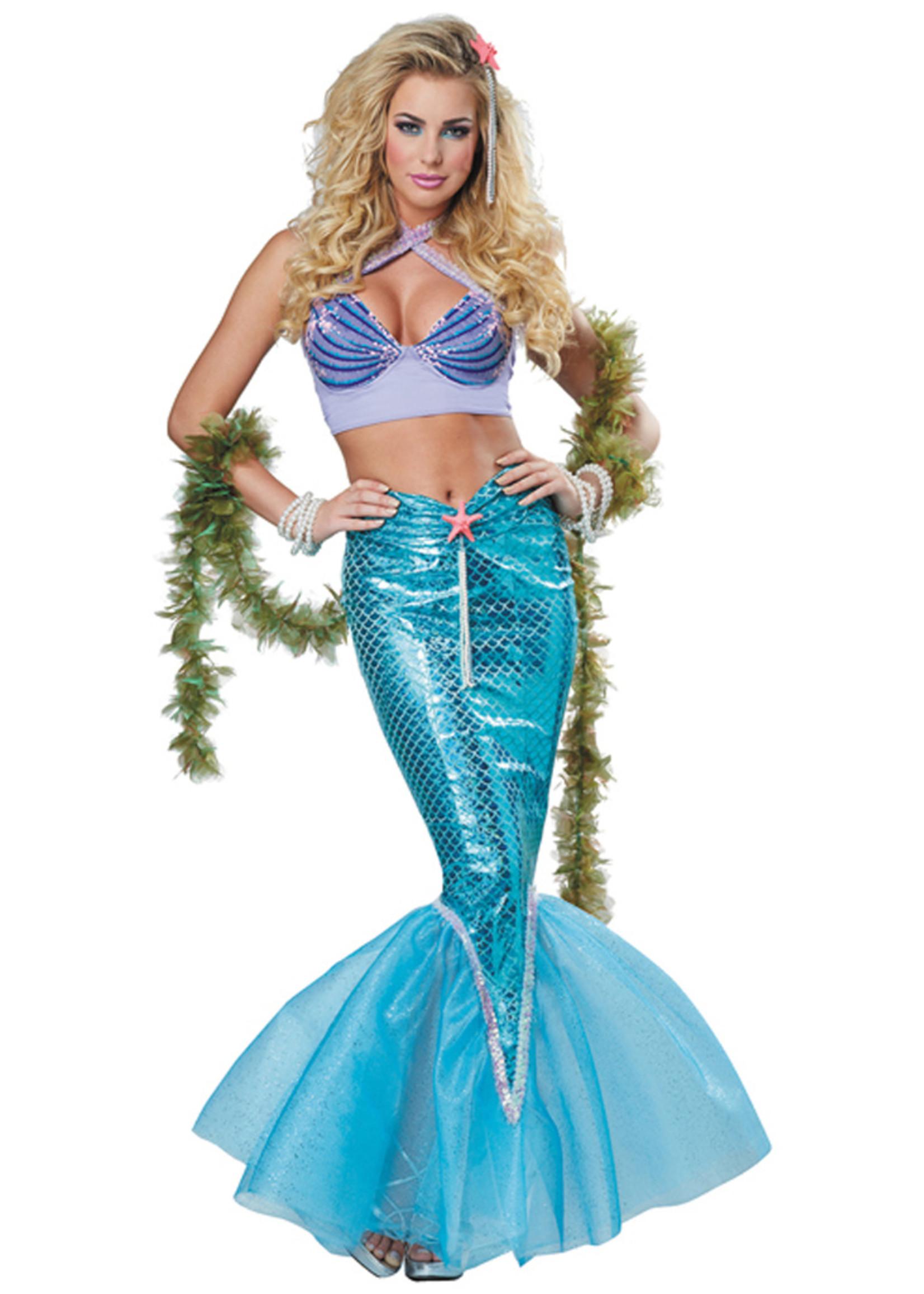 Mermaid Costume - Women's