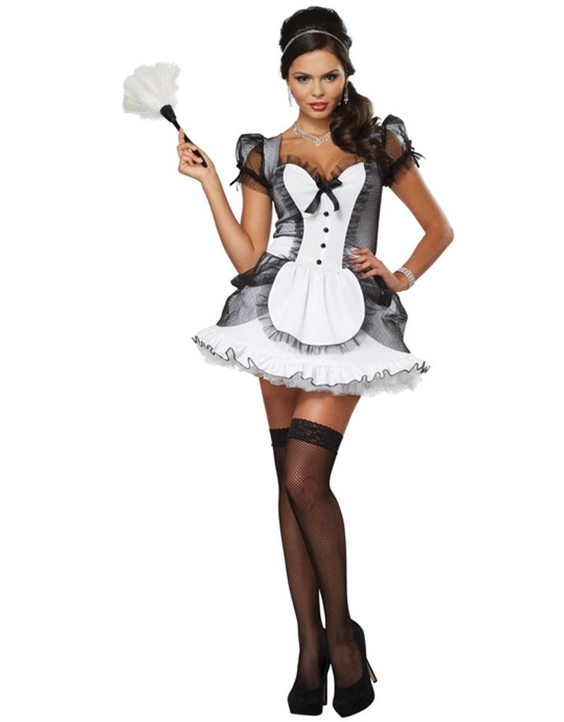 Luxe French Maid Costume - Women's