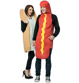 Hot Dog & Bun Costume - Couples