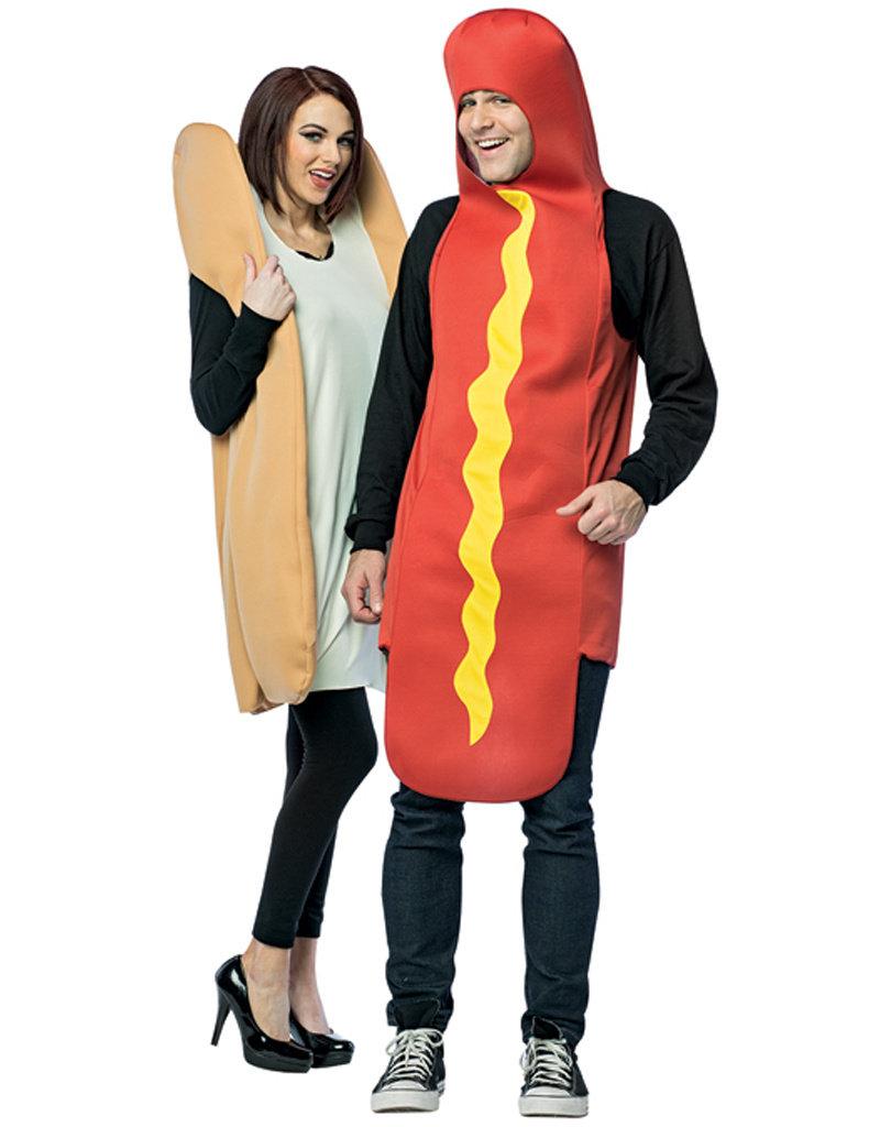 Hot Dog & Bun Costume - Couples