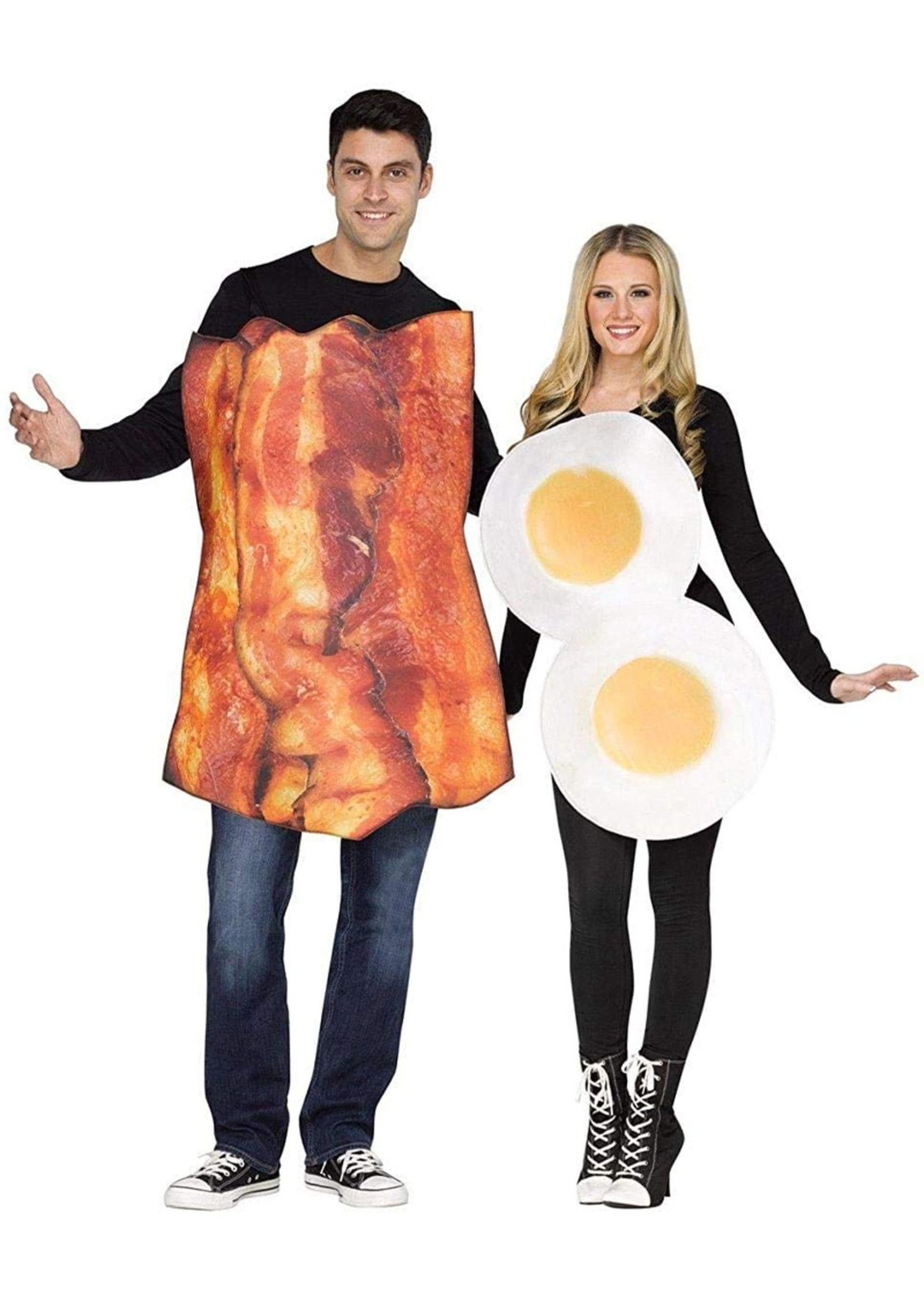 Bacon and Eggs Costume - Couples