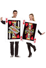 King & Queen of Hearts Costume - Couples