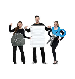 Rock, Paper, Scissor Costume - Couples
