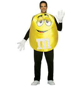 M&M - Yellow Costume - Adult