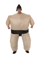 Inflatable Sumo Wrestler Costume - Humor