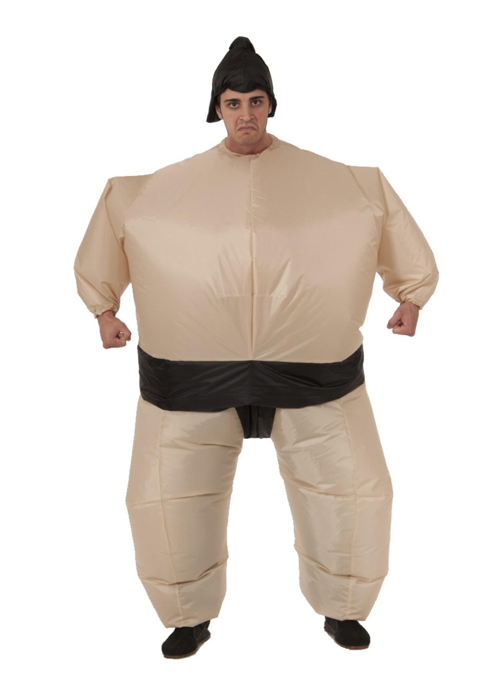 Inflatable Sumo Wrestler Costume - Humor