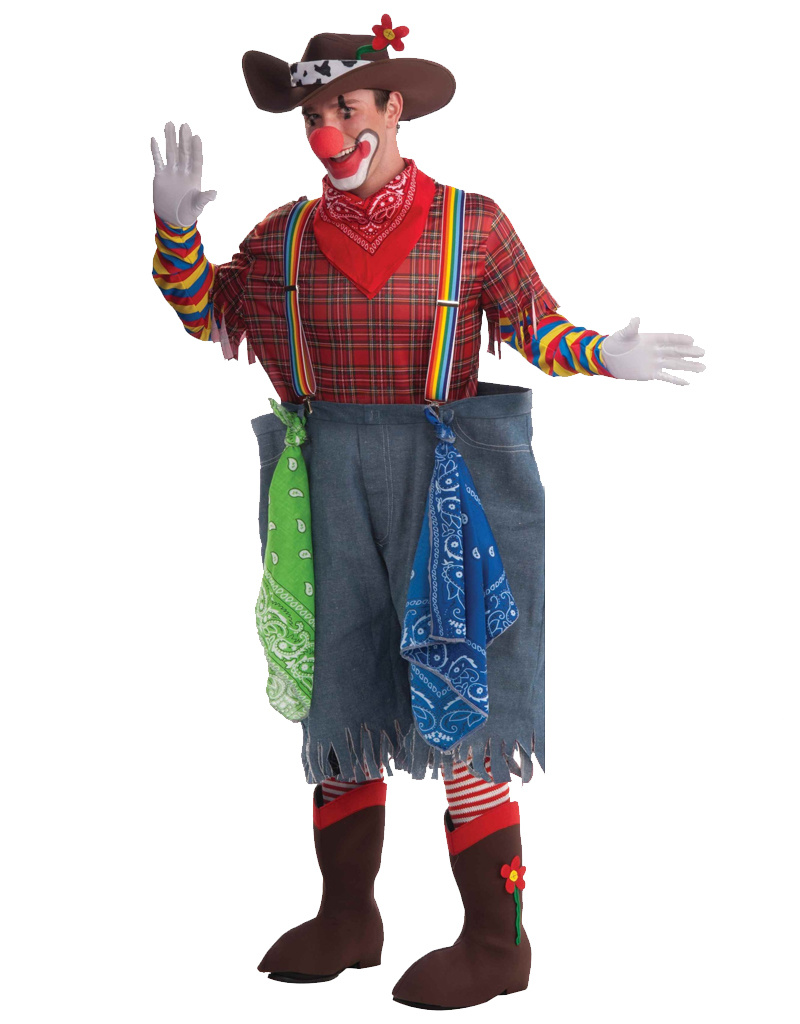 Rodeo Clown Costume Humor Party On