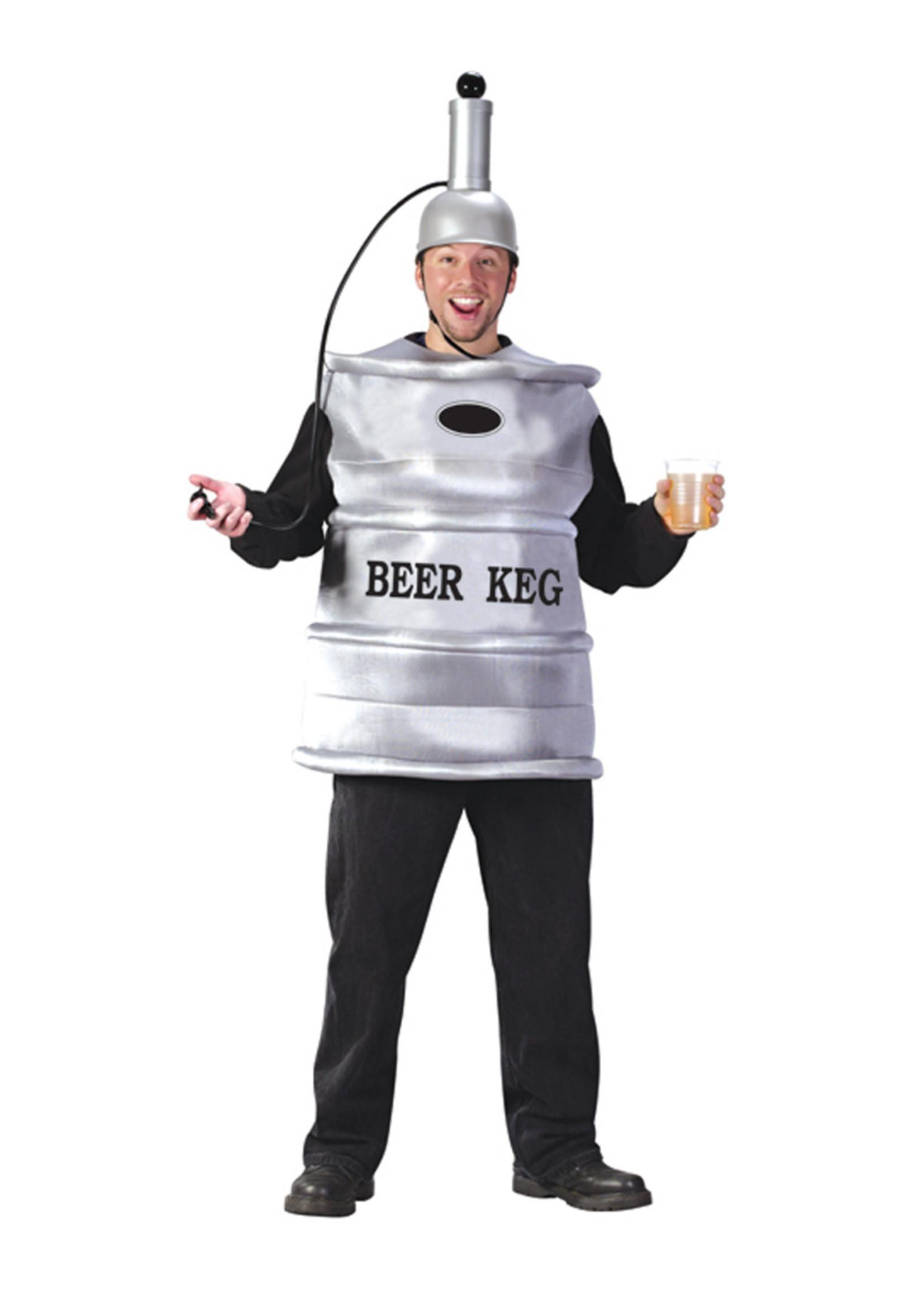 FUN WORLD Beer Keg Costume - Humor
