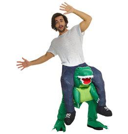 T-Rex Piggyback Costume - Humor