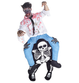 Skeleton Piggyback Costume - Humor