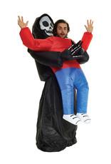 Inflatable Grim Reaper Pick-Up Costume - Humor