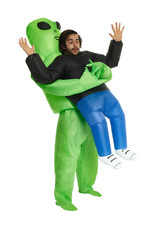 Inflatable Alien Pick-Up Costume - Humor