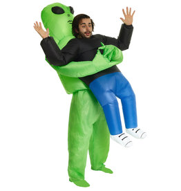 Inflatable Alien Pick-Up Costume - Humor