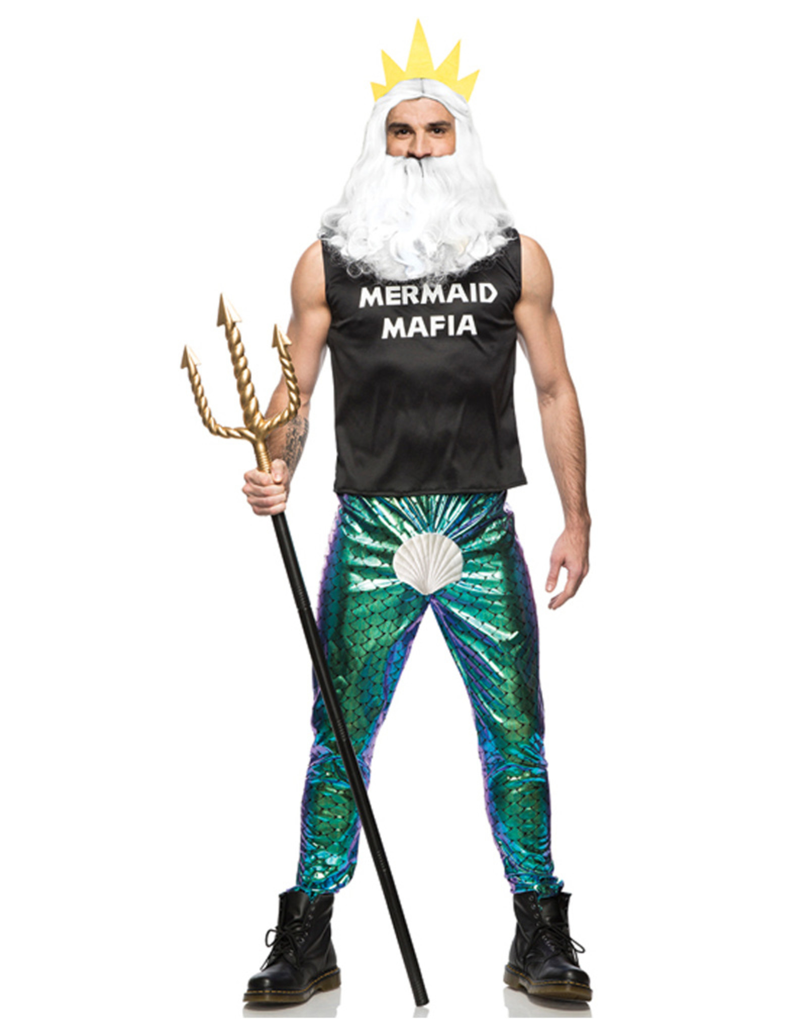 Mermaid Mafia Costume - Humor