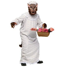 Big Bad Granny Wolf Costume - Humor