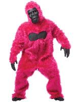 CALIFORNIA COSTUMES Pink Gorilla Costume - Humor