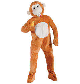Plush Monkey Costume - Humor