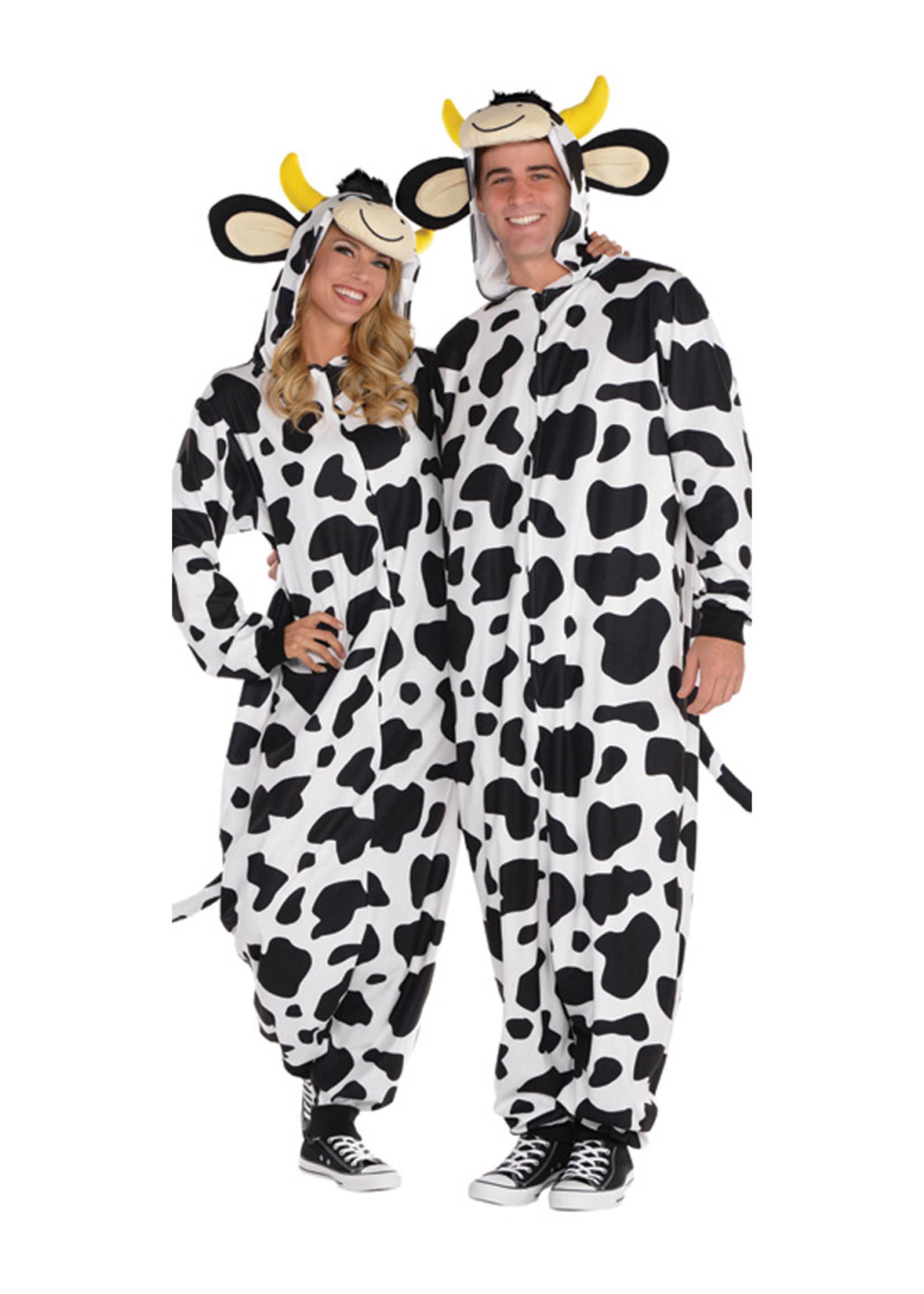 Cow Zipster Costume - Humor