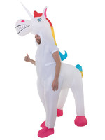 AFG MEDIA Giant Inflatable Unicorn Costume - Humor