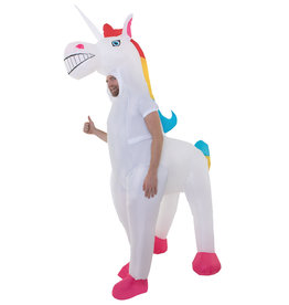 AFG MEDIA Giant Inflatable Unicorn Costume - Humor