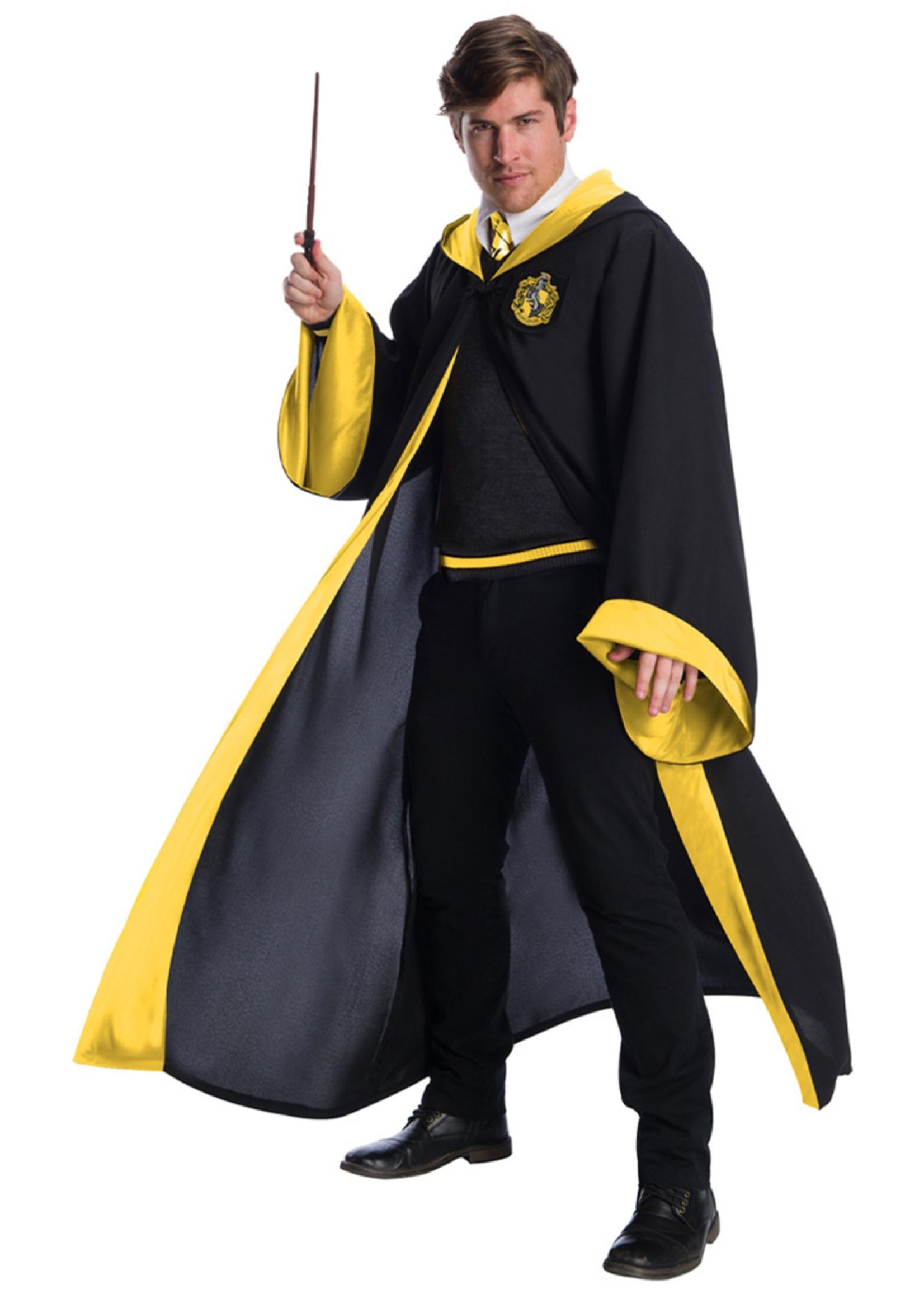 Hufflepuff Student Costume -Harry Potter - Adult