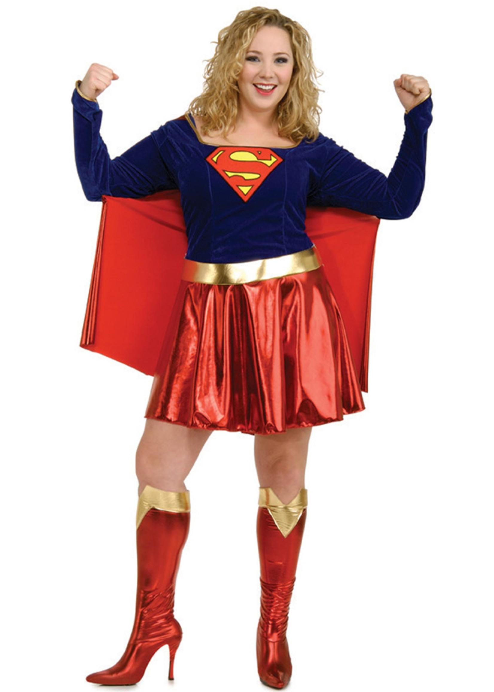 Supergirl Costume - Women Plus