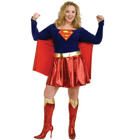 Supergirl Costume - Women Plus