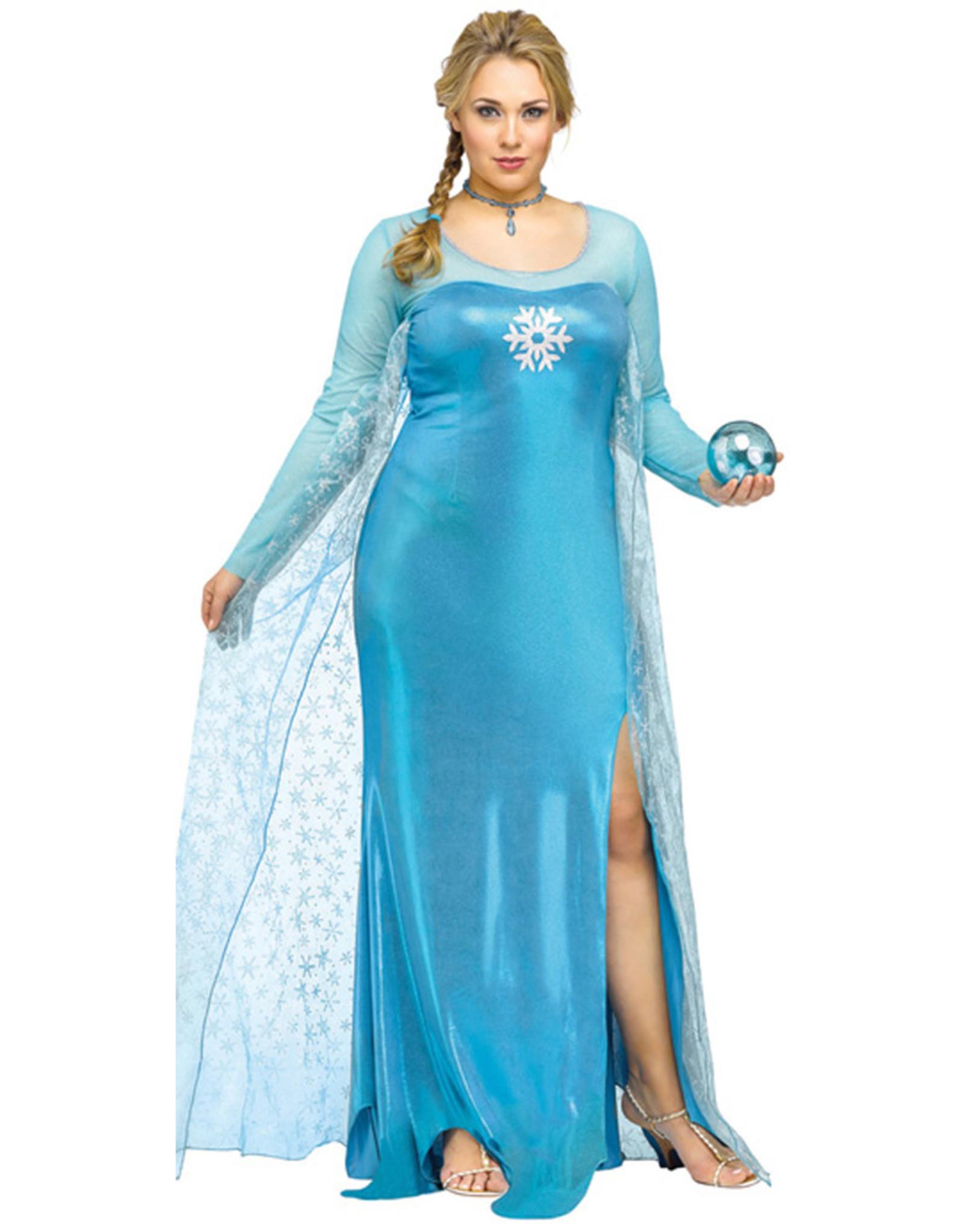 Ice Queen Costume - Women Plus
