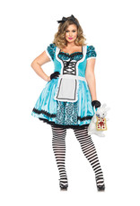 Looking Glass Alice Costume - Women Plus