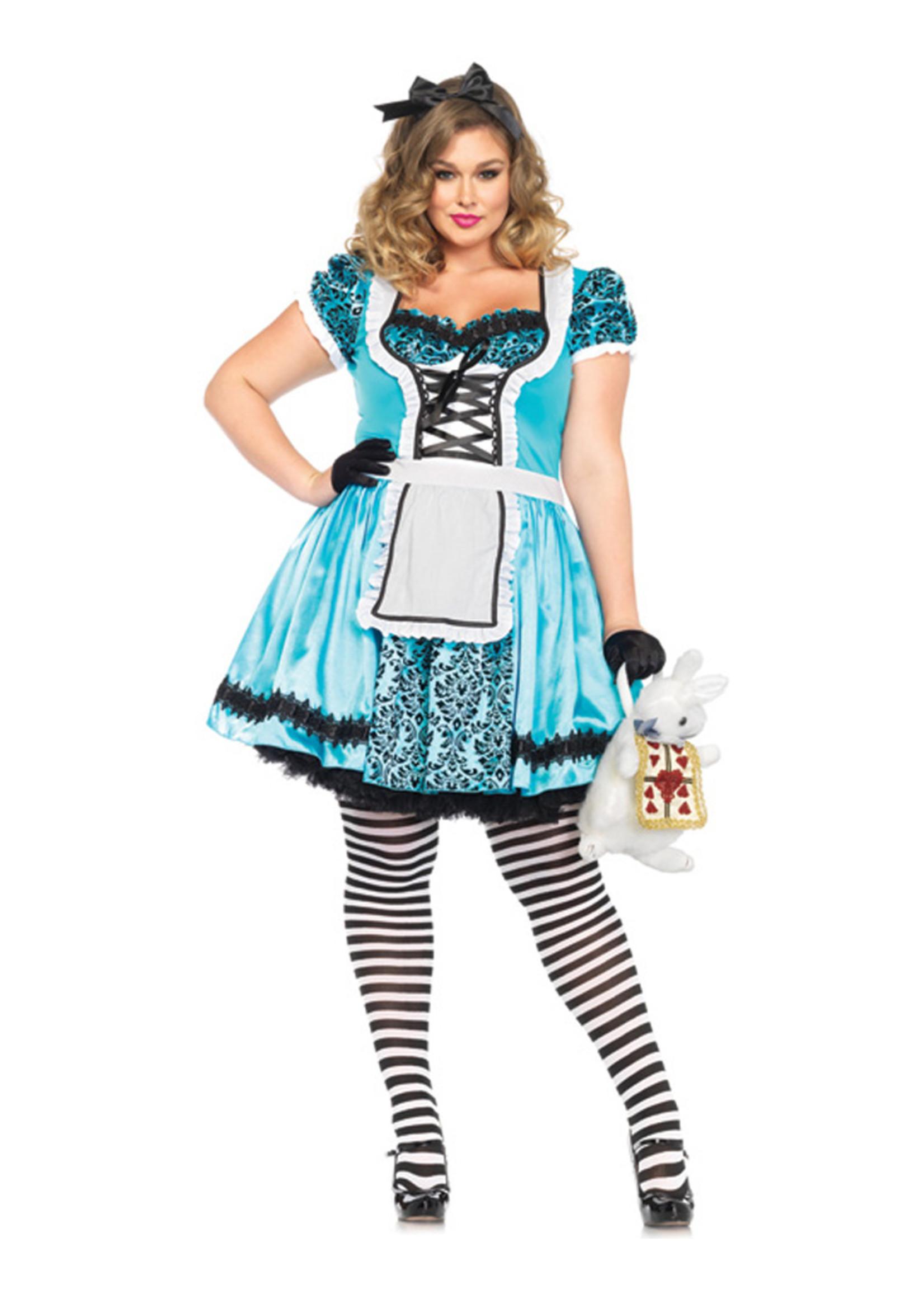 Looking Glass Alice Costume - Women Plus