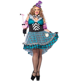 Mad Hatter Costume - Women Plus