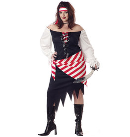 Ruby, The Pirate Beauty Costume - Women Plus
