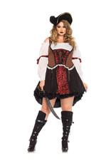 LEG AVENUE Ruthless Pirate Wench Costume - Women Plus