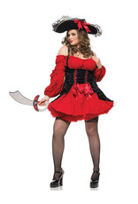 Vixen Pirate Costume - Women Plus