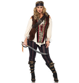 Captain Blackheart Costume - Women Plus