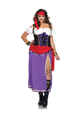 Traveling Gypsy Costume - Women Plus