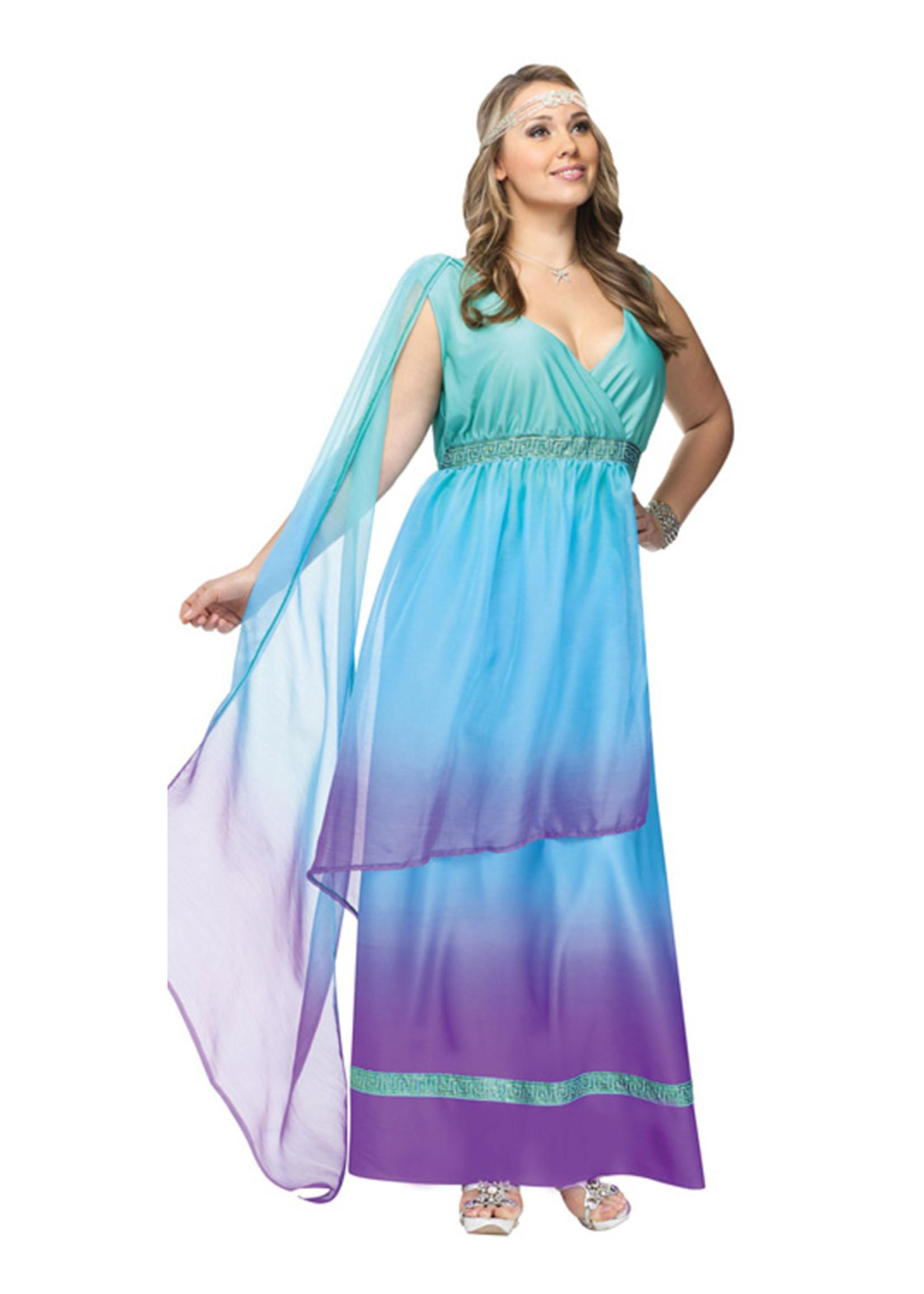 Sea Queen Costume - Women Plus