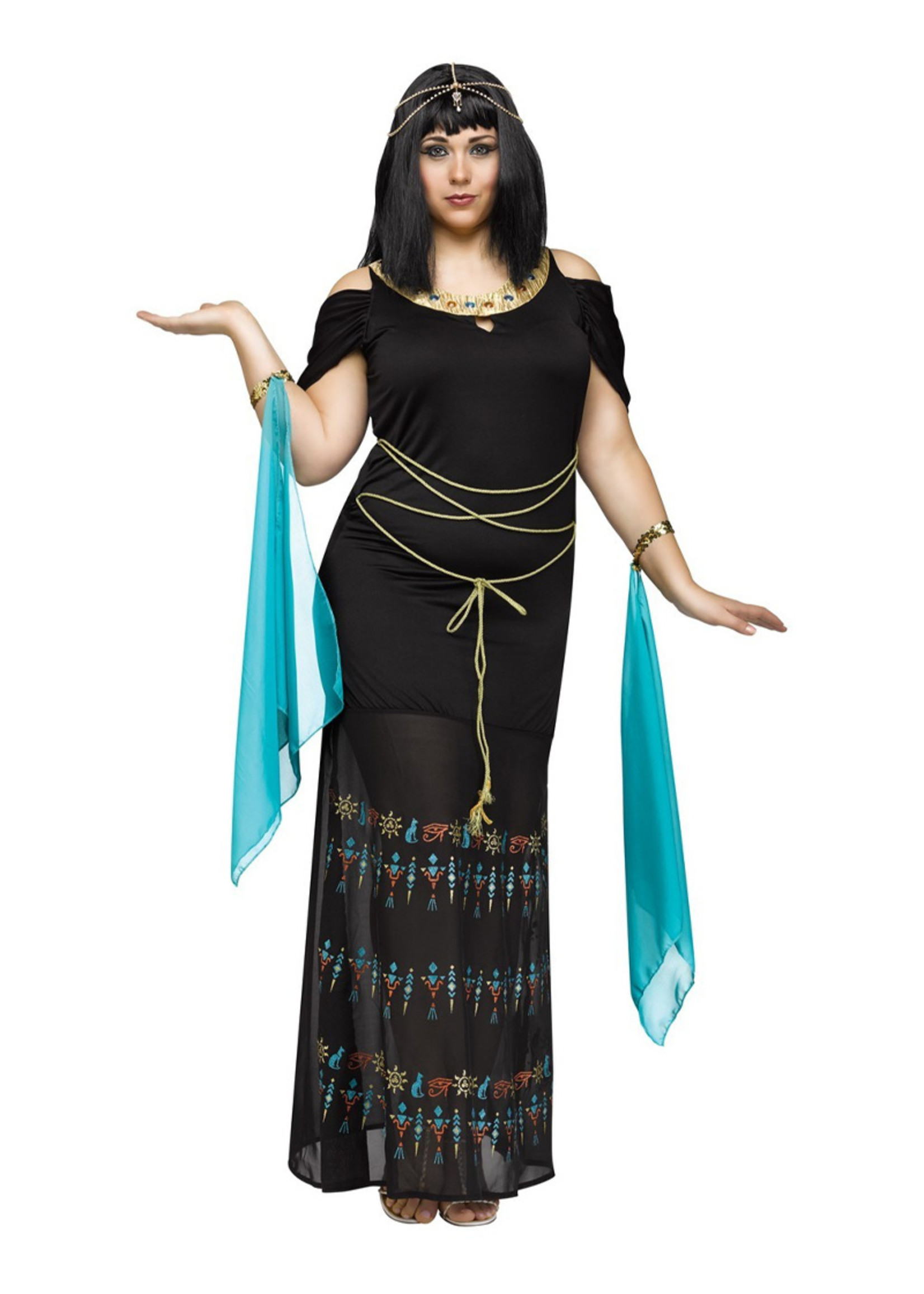 Egyptian Queen Costume - Women Plus