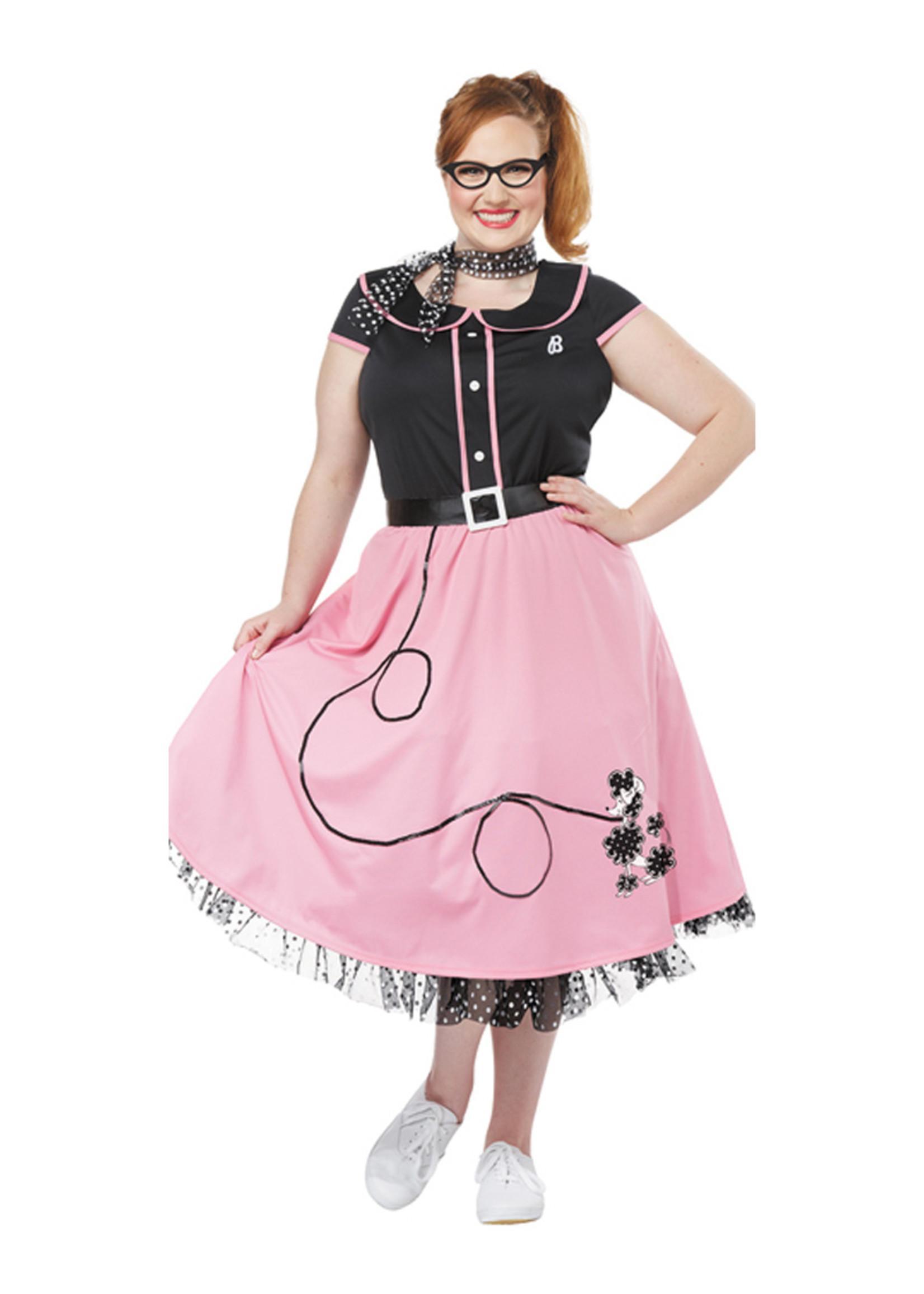 50's Sweetheart Costume - Women Plus