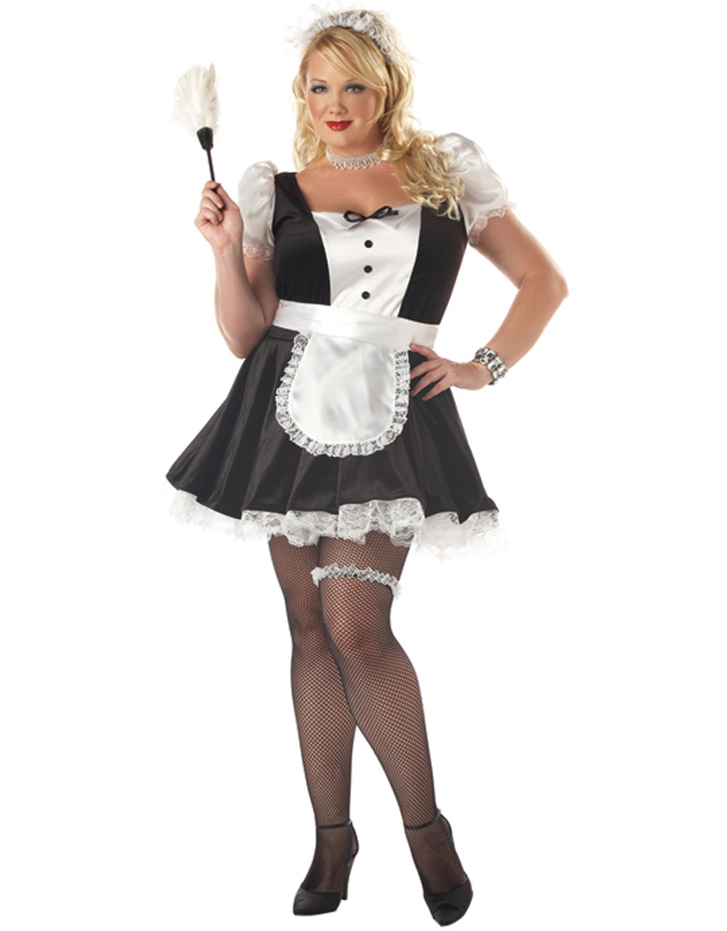 Fiona, the French Maid Costume - Women Plus - Party On!