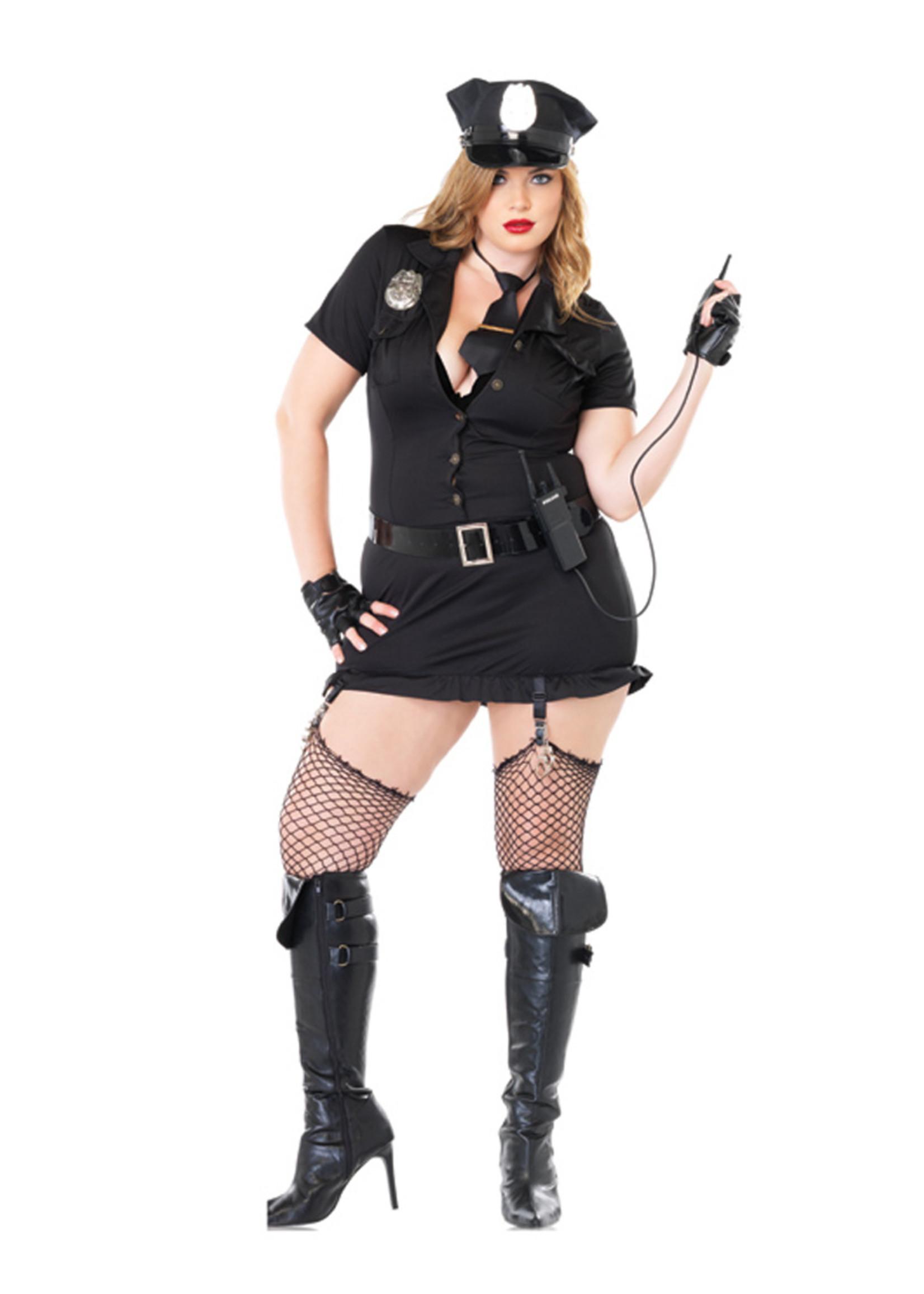 Dirty Cop Costume - Women Plus